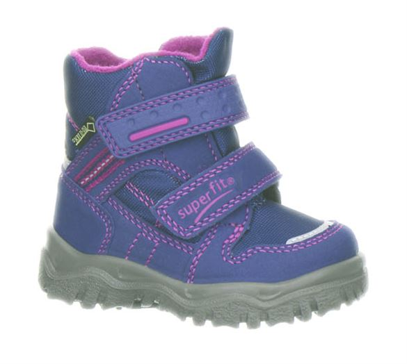 Superfit små pigestøvler m/Goretex, lilla/pink