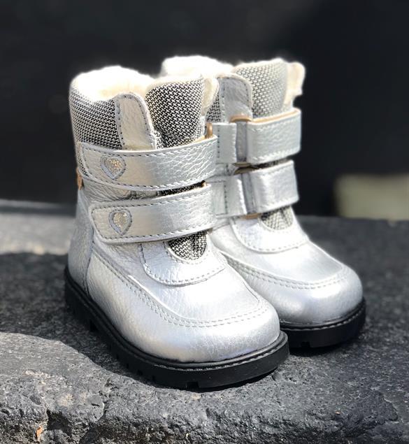 Image of   Arauto RAP klassiske sølv velcro vinterstøvler