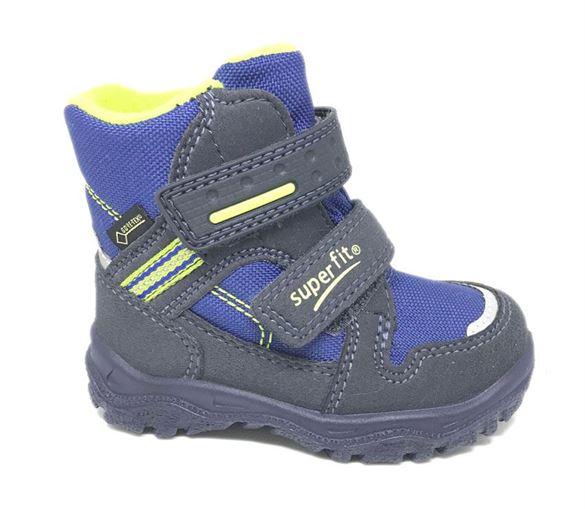 Superfit små drengestøvler m/Goretex, blå