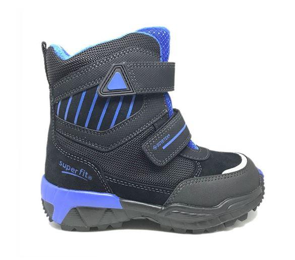 Superfit vinterstøvler m/Goretex, sort/blå