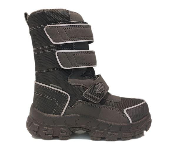 Richter 7951, sorte vandtætte vinterstøvler