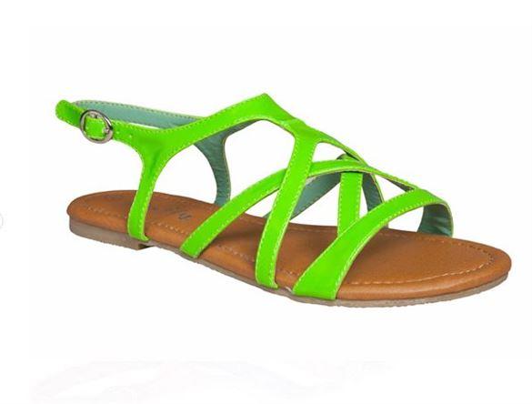 Duffy rem sandal, grøn