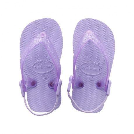 Billede af Havaianas Baby Top, lavendel/lilla klip-klap (flip-flop)med elastikrem