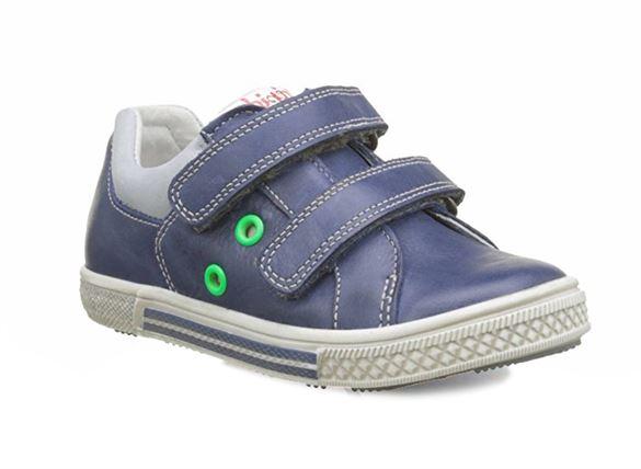 BabyBotte Karting velcrosko, blå