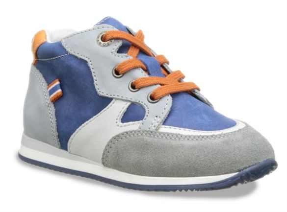 Image of   BabyBotte Ajoging sneakers, blå/grå/orange
