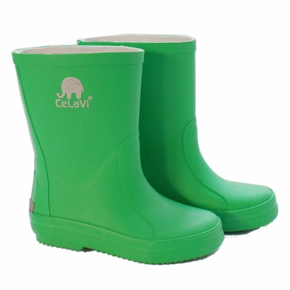 Image of   CeLaVi smalle grønne gummistøvler