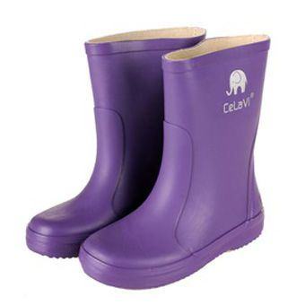 Image of   CeLaVi smalle lilla gummistøvler