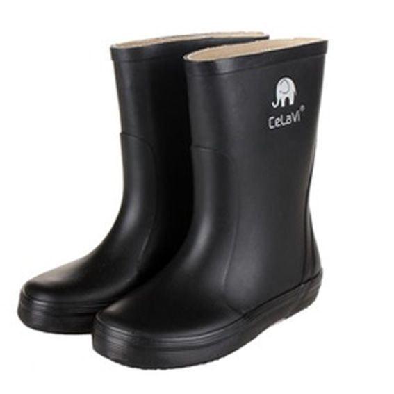 Image of   CeLaVi smalle sorte gummistøvler