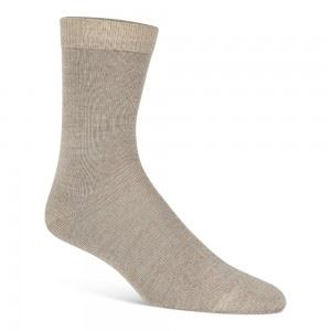 Uld strømper, beige (35-38) - velegnet til membran-støvler