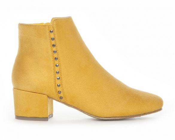 Duffy ankelstøvle m/nitter, gul