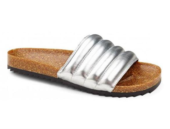 Image of   Friis Company Nadine slipper sandal, sølv