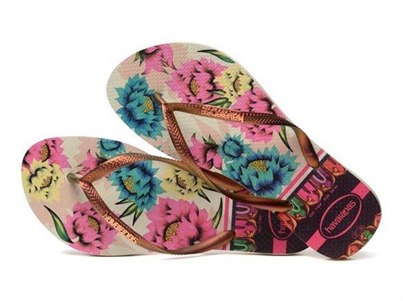 Havaianas Slim, Tropical Beige, klip-klap (flip-flop)
