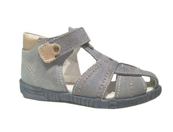 Primigi PBF 7041 sandal med lukket hæl og velcro, lyseblå