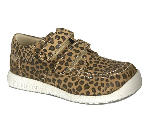 Image of   Arautorap (RAP) velcro sko, leopard