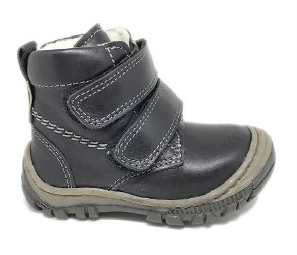 Image of   Arautorap (RAP) lille velcro vinterstøvle, sort