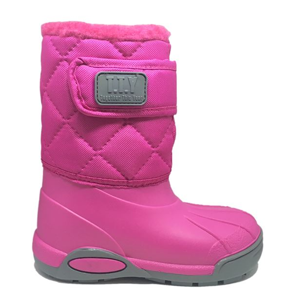 TTY Xtreme termo gummistøvle, pink