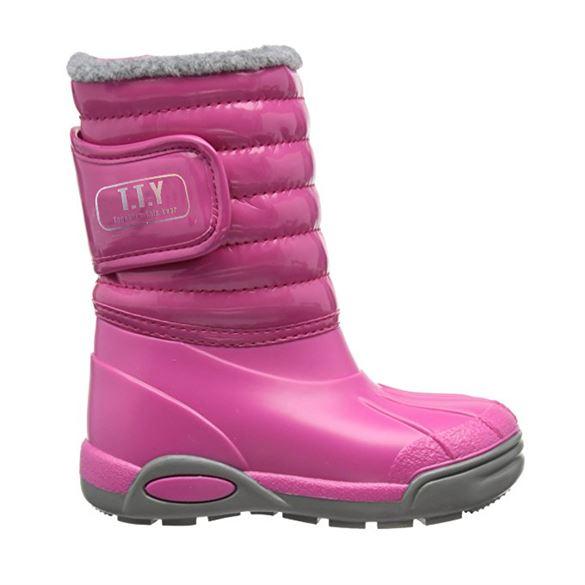 Image of   TTY Xiver termo gummistøvle, pink