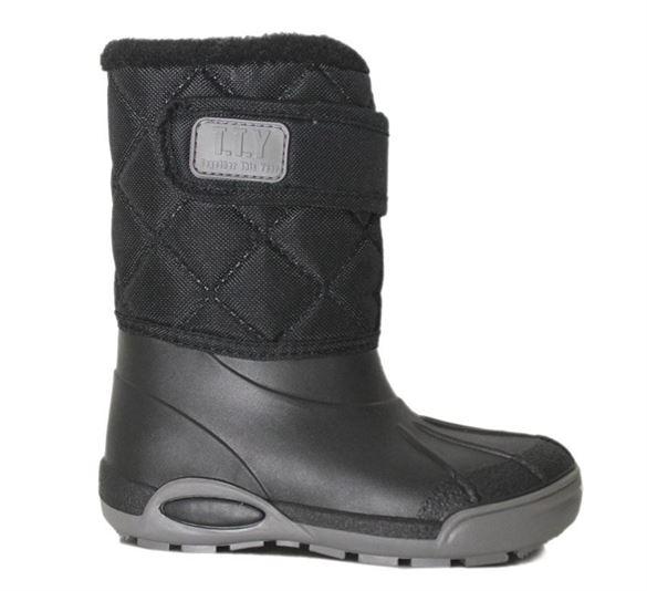 TTY Xtreme termo gummistøvle, sort