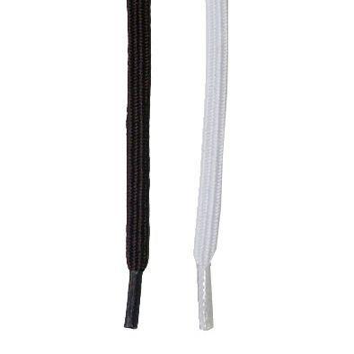 Elastiksnørebånd, hvid 75 cm
