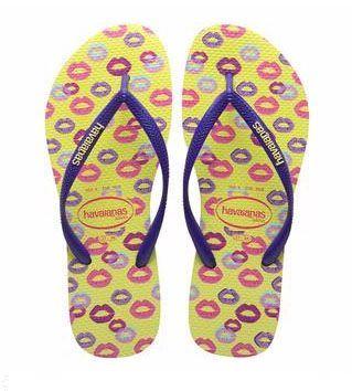 Image of   Havaianas Slim Cool, lemon kys, klip-klap (flip-flop)