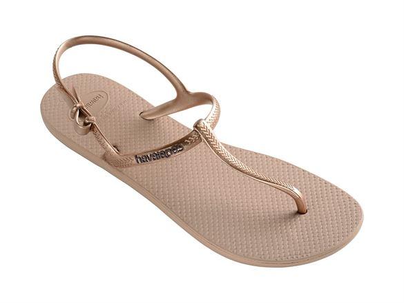 Havaianas Freedom, guld, klip-klap sandal