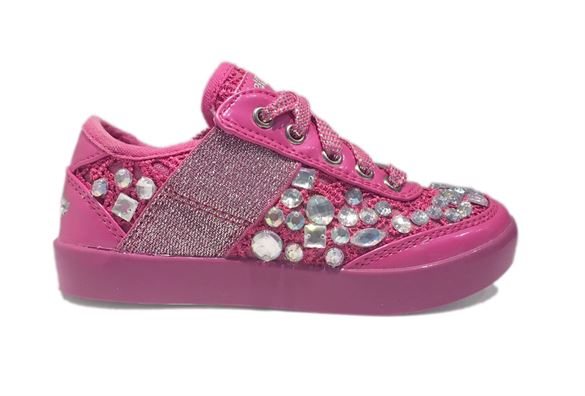 Lelli Kelly sneakers m/diamanter, pink
