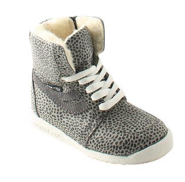 Arautorap (RAP) sporty vinterstøvle, grå leopard