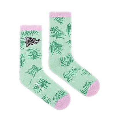 The White Brand Socks - Flamingo / Palme