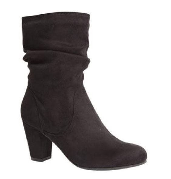 Duffy rynkestøvle, sort