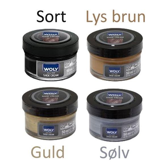 Woly shoe cream / Bjørns skocreme - sort