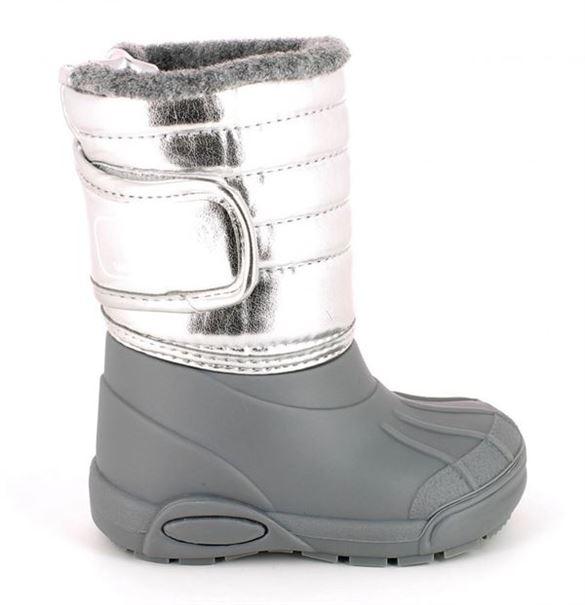 TTY Xiver termo gummistøvle, sølv